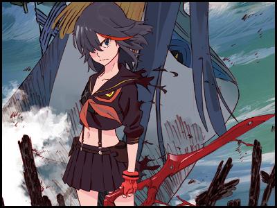 キルラキルのアニメ全話の動画を無料視聴する方法!アニポやアニチューブは危険?