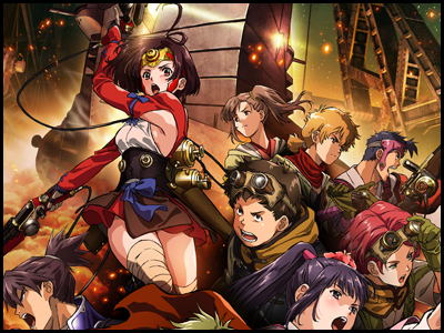 甲鉄城のカバネリのアニメ全話を無料視聴する方法!アニポやアニチューブは危険?