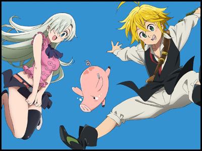 七つの大罪のアニメ全話を無料視聴する方法!アニポやアニチューブは危険?